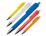 Kugelschreiber aus Kunststoff mit gemustertem Schaft